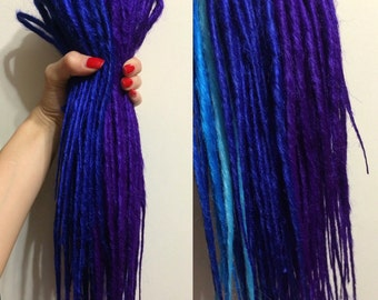 Various SET of 100% kanekalon synthetic DE or SE dreadlocks. Full head or multiple. Like Natural Dreads. [ by DarthDreads ]