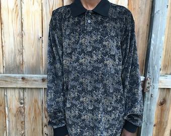 Long Sleeve Collared Shirt
