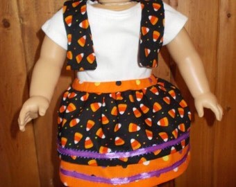 "18 inch Doll Clothes Halloween ""Cutie Pie"" Three Piece Outfit"