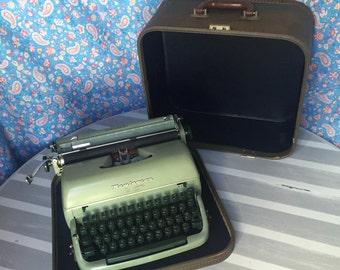 1960's Remington Quick-Riter Eleven portable typewriter