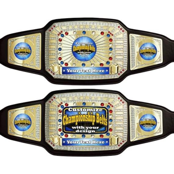 Create Your Own Custom Champion Award Belt