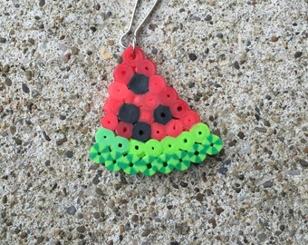 watermelon zipper pull.