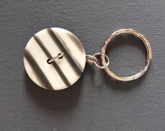 Button Keyring