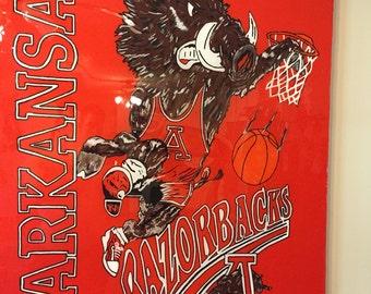 90s Arkansas Razorback