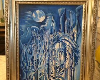 Blue Nightscape