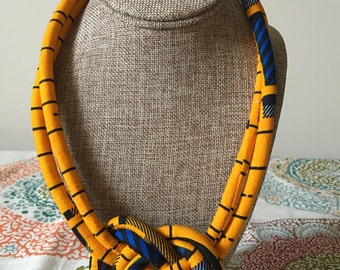 Ankara Knotted Necklace