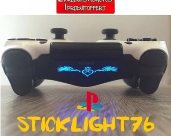 Stickers led console light bar controller ps4 controller