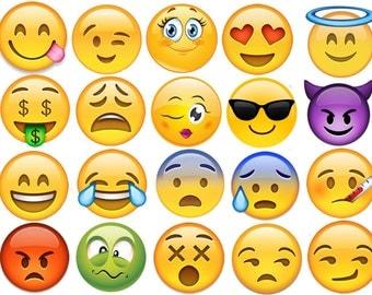 Emoji  Edible Images Cupcake, Cookie Toppers