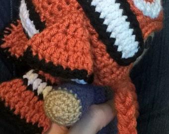 Crochet Clownfish Hat