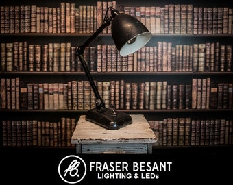 1950s Memlight Vintage Factory Anglepoise lamp
