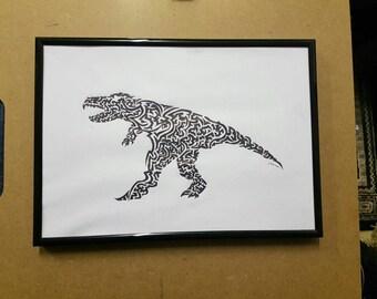 Tribal Raptor