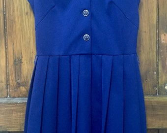 Vintage 1950s Sailor Dress