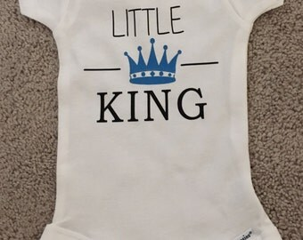 Little King onesie