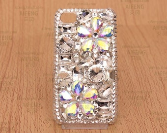 Custom Bling Fashion Kawaii Phone Case, Custom Cell Phone Case, Bling Case, Custom Gift Ideas, FREE SHIPPING