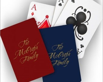 Personalized Playing Cards - 3749