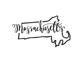 Massachusetts - printable download