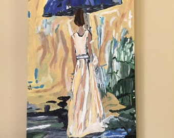 Lilac Umbrella