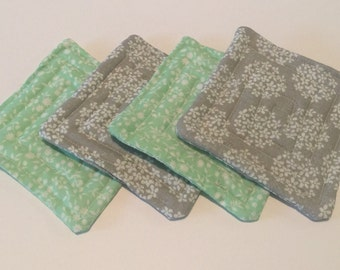 Fabric Coasters Set of 4