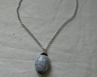 Blue gray pendant