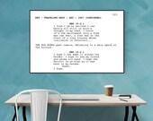 Shawshank Redemption - Screenplay Movie Poster