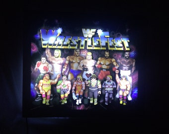 Wall Light Wrestlefest