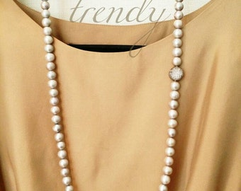 Gray Freshwater Pearls necklace