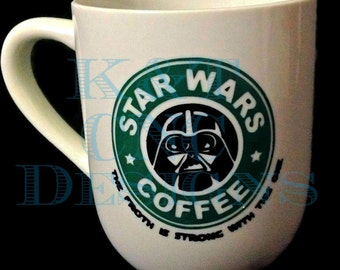 Darth Vadar Coffee Cup Star Wars