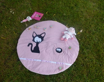 items similar to toy sack play mat on etsy. Black Bedroom Furniture Sets. Home Design Ideas