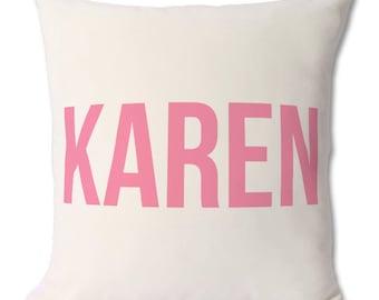 Personalised Named Cushion