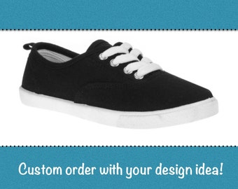 Custom girl's shoes (let's talk about your design idea)