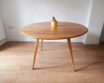 Ercol Drop Leaf Dining Table - Retro