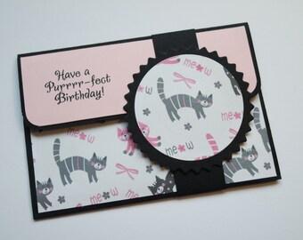 Gift card envelope / cat gift card envelope / dog gift card envelope