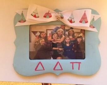 Custom Made Greek Life Picture Frames