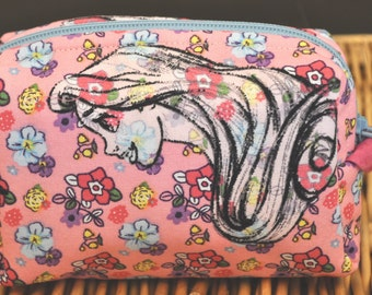 Mini Princess cosmetic bag