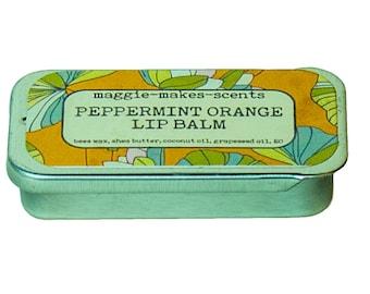 Pepper Orange Lip Balm
