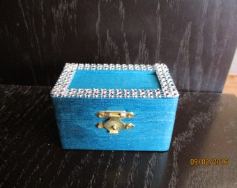 Angel Wish Box (teal)