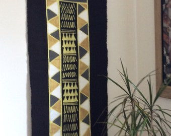 Batik - Wandbehang\ Tischläufer mit Motiv