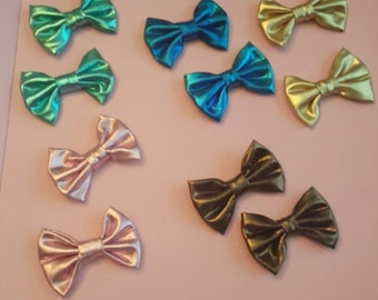 small bow tie hair bows