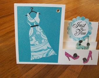 Dress And Accessories Side Stepper Card WG1