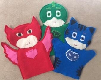 PJ Mask Puppets
