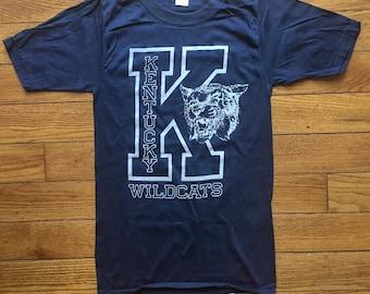NOS vintage Kentucky Wildcats t-shirt