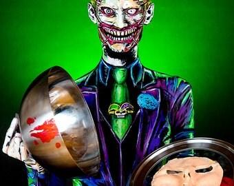 Joker Bodypaint 8.5x11 Print
