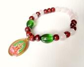 Lakshmi | Selbstliebe | Göttin | Herzchakra | Armband | Selbstiebe manifestieren | Yoga Schmuck | Heilsamer indischer Schmuck
