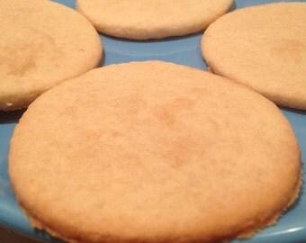Vegan Vanilla Banana Sugar Cookies