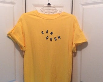 Vincent Van Gogh Yellow TShirt