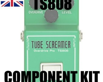 Tubescreamer TS808 - build your own clone boutique guitar effect pedal: component kit