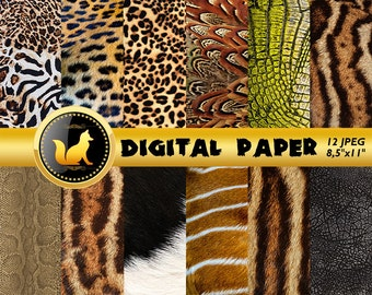 Animal Skin Background,Animal Skin Paper,Animal Skin Scrapbook Paper,Animal Background,Animal Backdrop,scrapbook paper,Leopard,Tiger,Snake