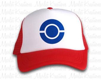 Pokemon trucker hat