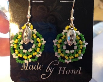 Oregon Ducks Large Dangle Earrings