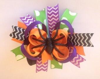 Custom Boutique Halloween Hair Bow